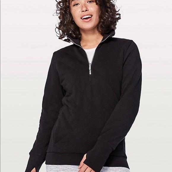 timeless design 85af1 30a1d Lululemon Forever Warm Quilted Pullover